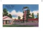 Rayville Motel ca 1954