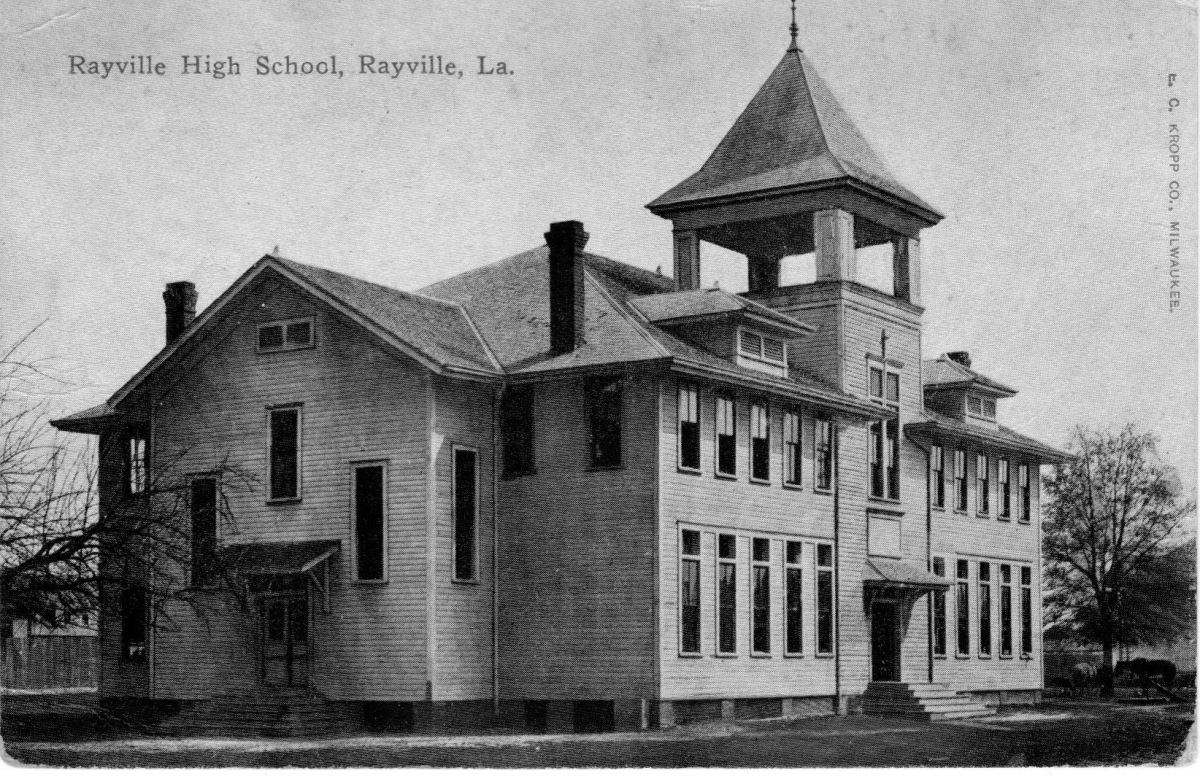 Old Rayville High School Building